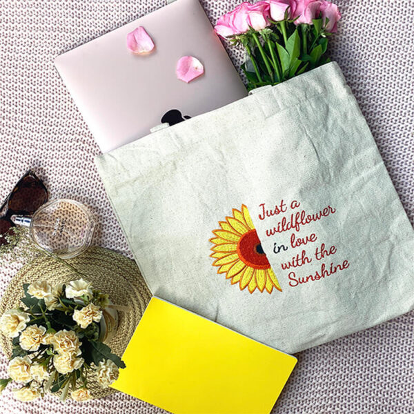 Buy sunflower tote bags